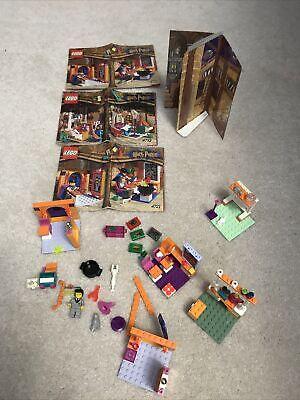 Lego Vintage Harry Potter 4721 Hogwarts Classroom 4723 Diagon alley