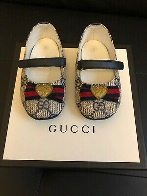 Gucci Baby Shoes Ballerina Flats Size 19 US 3.5