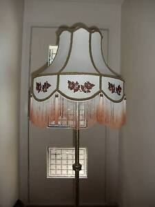 Decorative Brass and Marble/Granite Lamp Stand and Lampshade. Yarralumla South Canberra Preview