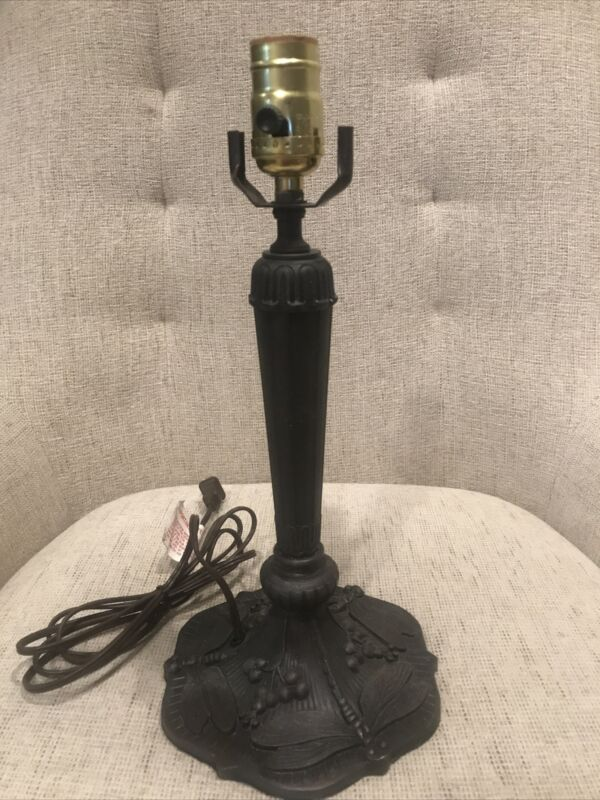 "Tiffany Style Lamp Base Only  14"" H"