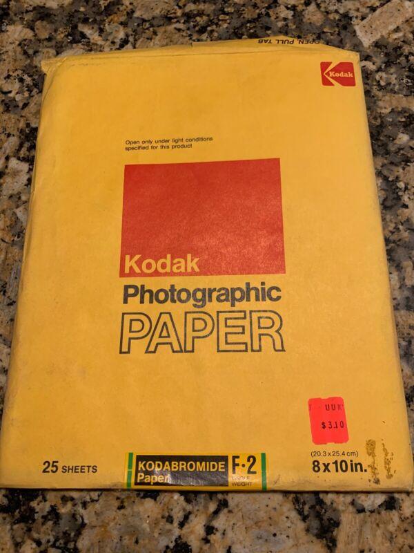 Vintage Kodak Photographic Paper Kodabromide F2