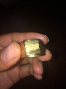 18k gold men ring