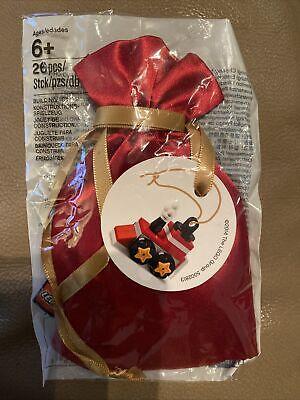 LEGO Holiday VIP Christmas Tree Ornament BRAND NEW SEALED Train 5002813 FastShip