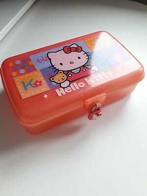 Hello Kitty Rare Vintage Lockable Box 1997
