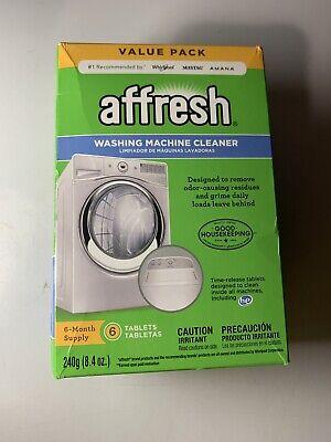 Affresh Washer Machine Cleaner, 8.4 oz, 6-Tablets