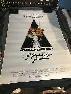A CLOCKWORK ORANGE Movie POSTER 24x36 1971