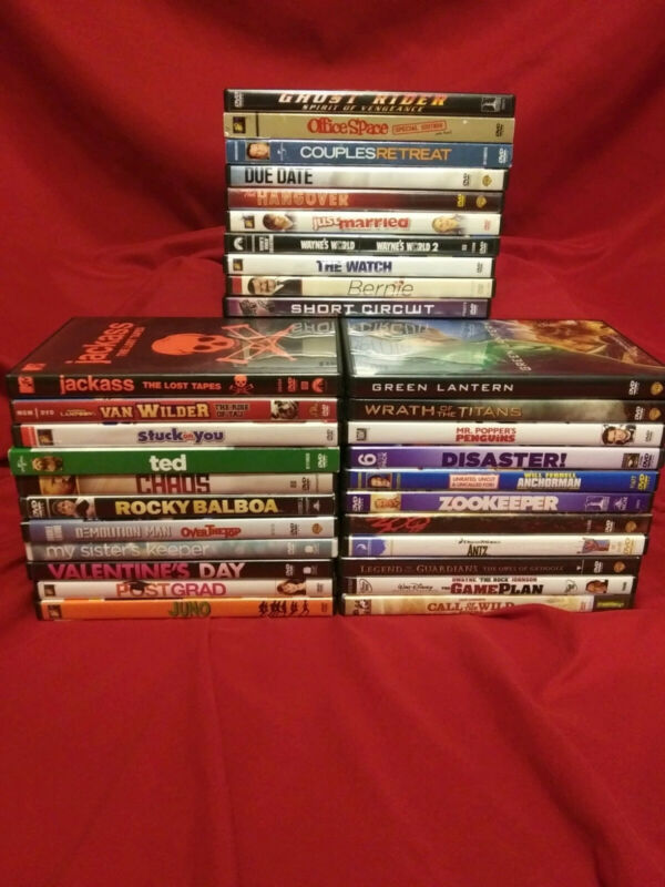 dvd lot of 32 Personal Collection, Known titles, no duplicates.