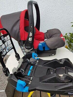 Britax Römer Babysafe SHR plus Adapter und Belted Base