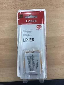 Canon Battery LP-E8 - works with 700d, 650d, 600d and 550d Sydney City Inner Sydney Preview