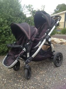 Baby jogger city double pram Daylesford Hepburn Area Preview