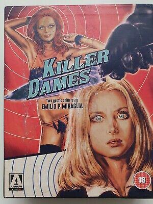 Killer Dames Blu - ray DVD 2016 Booklet Ltd. Ed. Arrow BOX SET USED GOOD