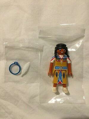 Playmobil Native American Girl Figure (from set 5278) - NEW