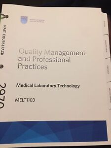 Quality management and professional practices.