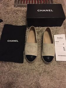 Authentic Chanel Espadrilles size 36