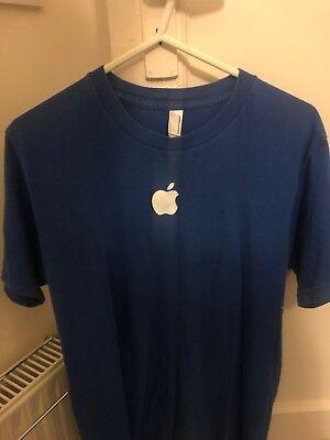 Genuine Apple Retail Blue T-Shirt (SMALL)