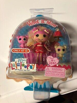 Mini Lalaloopsy Valentines 2014 Target Exclusive Velvet B. Mine Brand - Lalaloopsy Lalaloopsy