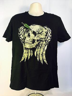 Dead Nerd Halloween (THE WALKING DEAD DARYL DIXON Halloween T-Shirt (LARGE) Horror Block Nerd Block)