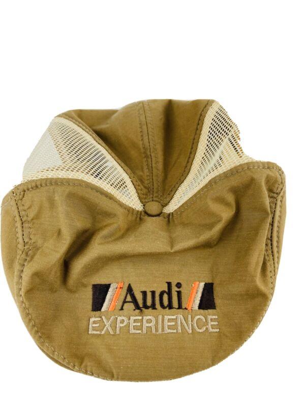 Audi Experience Vintage Cap Brown 1980s Brown Orange