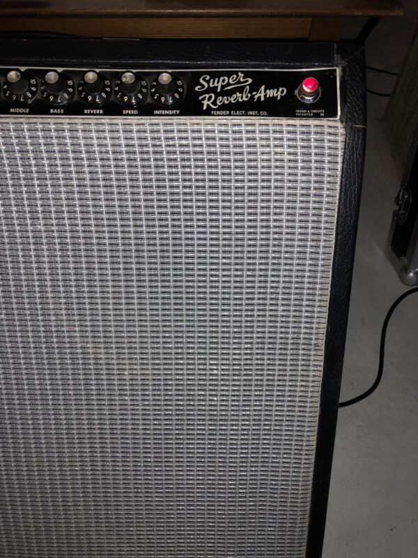 Fender Super Reverb Blackface Amplifier