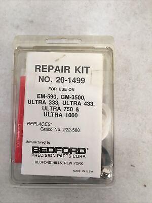 Bedford Repair Kit 20-1499 Replaces Graco 222-588 Em590gm-3500ultra 333433
