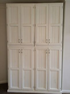 Modular white wardrobes x2 ( in 4 parts)  Kings Cross Inner Sydney Preview