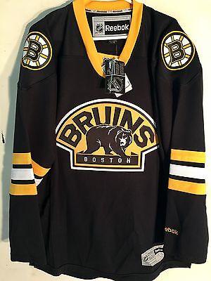 Reebok Premier NHL Jersey Boston Bruins Team Black Alt sz - Black Premier Team Jersey