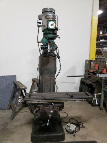 Bridgeport Vertical Milling Machine with Extension