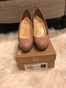 Christian Louboutin Prorata 90 Patent Calf Heels 37.5 Doncaster Manningham Area Preview