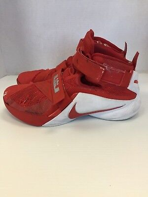 outlet store 1165e 37052 Nike Zoom Lebron James Basketball shoes size 17 mens Red White
