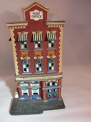 Dept 56 Washington Street Post Office Christmas In The City  58880   1117