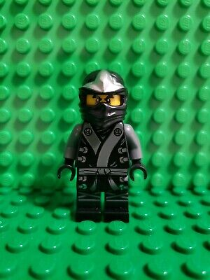 Lego Ninjago Black (LEGO Ninjago Cole The Final Battle Black Ninja Minifigure 70502)
