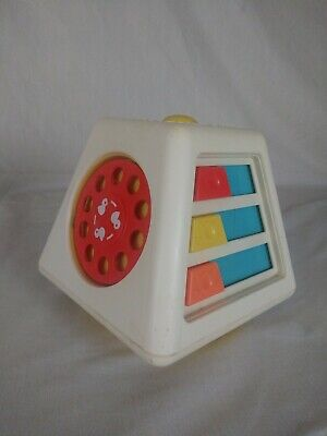 VTG 1978 Fisher Price 156 Turn & Learn Spinning Toy Activity Center Baby Infant