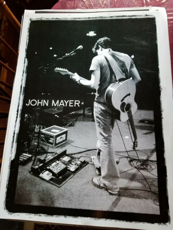 JOHN MAYER ON STAGE  PROMO POSTER