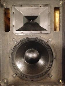 """Sound System EV 12"""" Stage Monitors Mixer Amp Mics Stands Cable"""