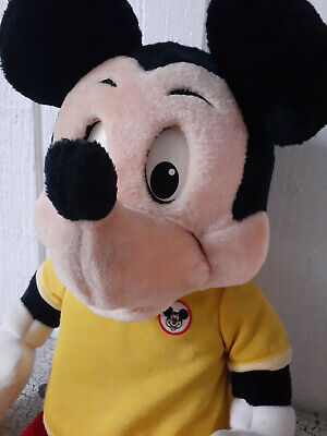 Vintage 1986 Worlds of Wonder Talking Mickey Mouse - Excellent Used - WOW
