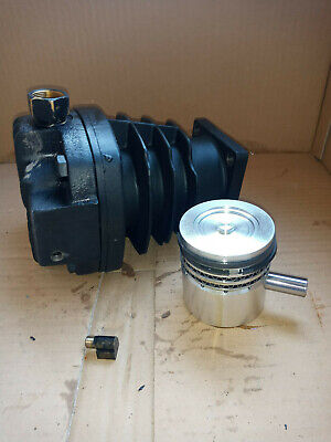 Ingersoll Rand 2340 Cylinder And Head Piston And Piston Pin Air Compressor Part