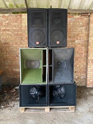 "15"" Flare Pa Speakers"