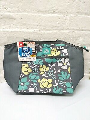 IGLOO Cooler Bag Mini Essentials 8 Can Capacity Abstract Lotus Design Lunch Tote