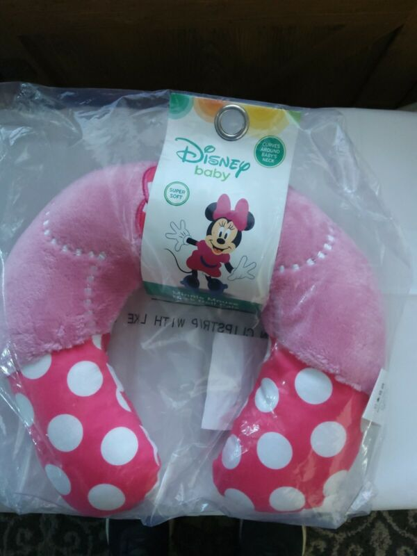"""NEW"" ~ DISNEY Baby Neck Roll Pals - MINNIE MOUSE"