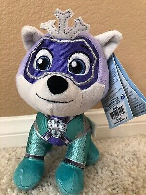 Paw Patrol EVEREST Plush Mighty Pups Super Paws Plush Nick Jr