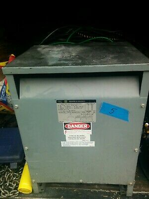 Square D Ee30t3h 30 Kva 480 X 120208 Volt Dry Type Transformer