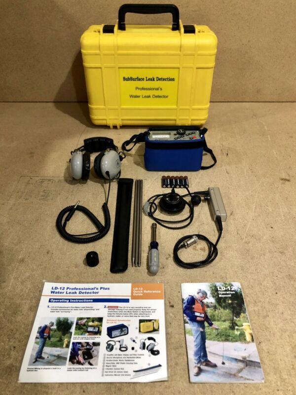 SubSurface Leak Detection LD-12 Survey Water Detector LD12