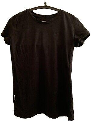 ICEBREAKER Merino Wool Short Sleeve T-shirt Black Womens Small