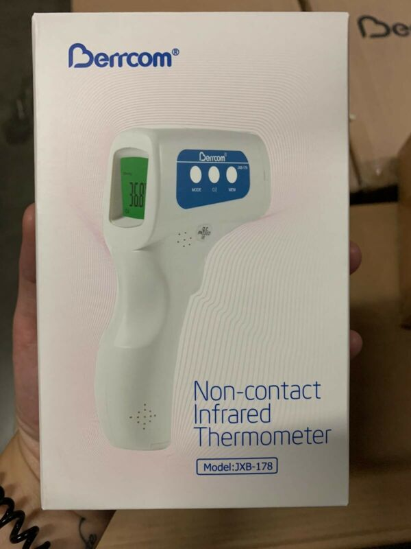 Berrcom Temperature Gun Non-contact Digital Laser Infrared Ir Thermometer *USA*