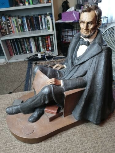 Vintage Tom Clark Gnome Abraham Lincoln 1989 Signed #31/600 Limited Edition Rare