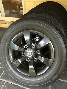 Holden Colorado Z71 Genuine Rims and Tyre package Glen Iris Boroondara Area Preview