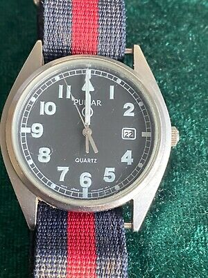 Seiko Pulsar Military G10 Field Watch Coldstream Guards in Great condition