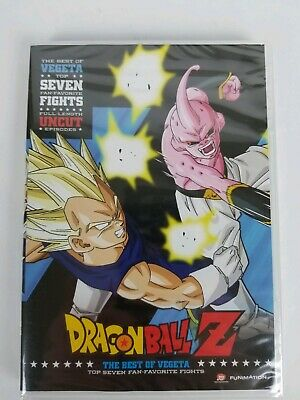 Dragon Ball Z The Best Of Vegeta Dvd Top Seven Favorite Fights New Sealed