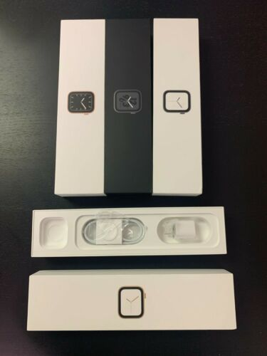 Apple Watch Box Series 4 5 40/44mm Original Packaging with Genuine Accessories