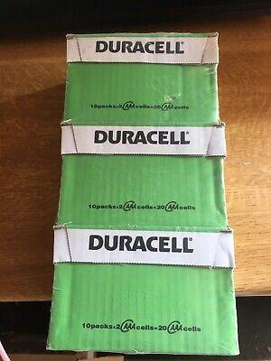 Job Lot 30 Packs DURACELL AAA Plus Power Alkaline Batteries DURALOCK LR03...